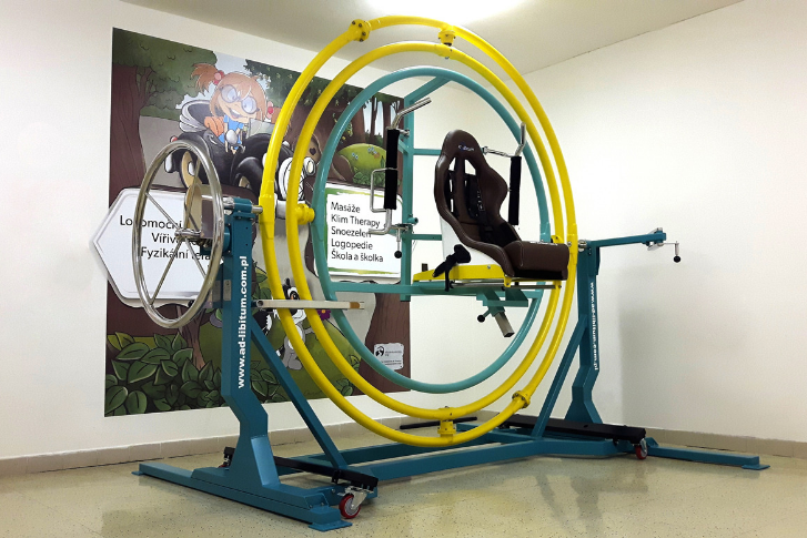 medical gyroscope trainer AD-LIBITUM 1
